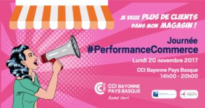 i-cust parteanire de la journée performance commerce à la cci de bayonne