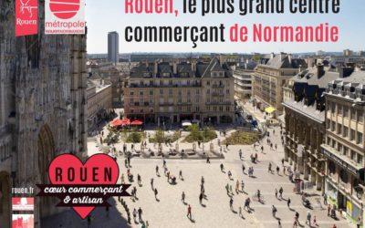Rouen s'offre une vidéo de promotion de son commerce